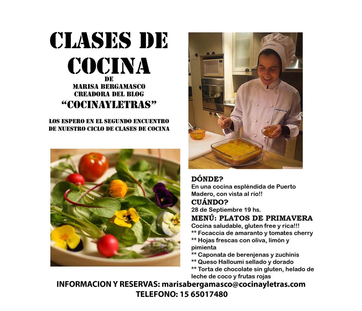 Ciclo de clases de cocina clase del 28 de septiembre - Clases de cocina meetic ...